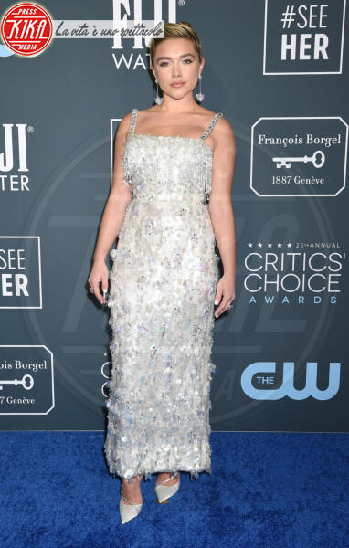 Florence Pugh - Santa Monica - 12-01-2020 - Critics' Choice Awards: Anne Hathaway, guardatela negli occhi!