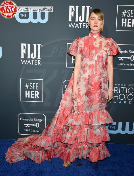 Saoirse Ronan - Santa Monica - 12-01-2020 - Critics' Choice Awards: Anne Hathaway, guardatela negli occhi!