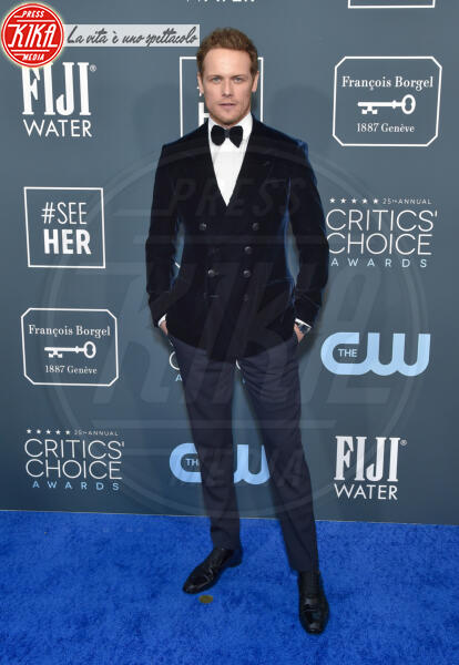 Sam Heughan - Santa Monica - 12-01-2020 - Critics' Choice Awards: Anne Hathaway, guardatela negli occhi!