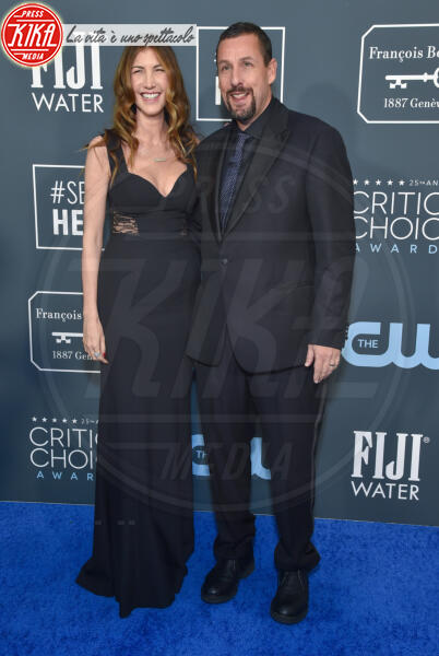 Jackie Sandler, Adam Sandler - Santa Monica - 12-01-2020 - Critics' Choice Awards: Anne Hathaway, guardatela negli occhi!