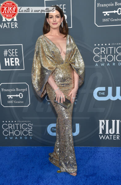 Anne Hathaway - Santa Monica - 12-01-2020 - Critics' Choice Awards: Anne Hathaway, guardatela negli occhi!