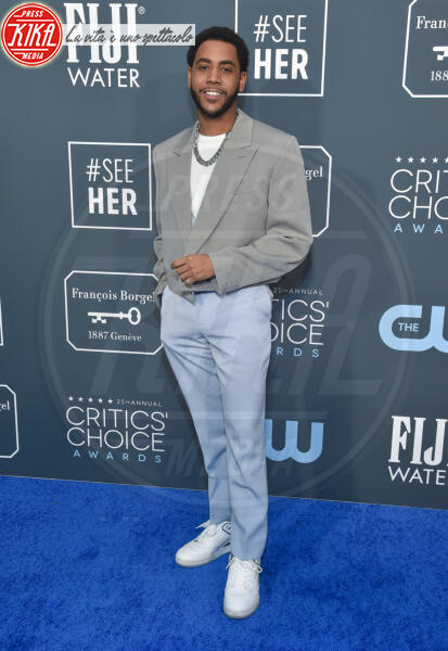 Jharrel Jerome - Santa Monica - 12-01-2020 - Critics' Choice Awards: Anne Hathaway, guardatela negli occhi!