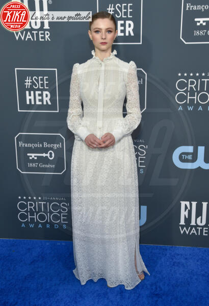 Thomasin McKenzie - Santa Monica - 12-01-2020 - Critics' Choice Awards: Anne Hathaway, guardatela negli occhi!