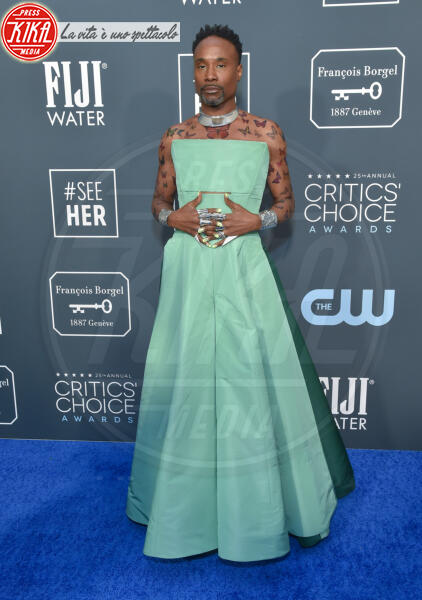 Billy Porter - Santa Monica - 12-01-2020 - Critics' Choice Awards: Anne Hathaway, guardatela negli occhi!