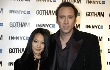Alice Kim, Nicolas Cage - New York - Nicolas Cage prosciolto dalle accuse di violenza domestica