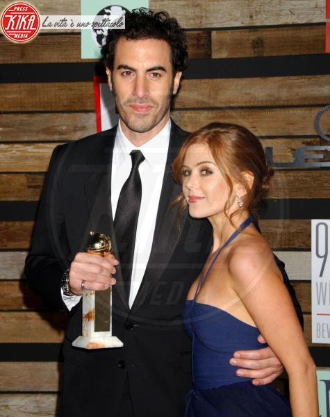 Sacha Baron Cohen, Isla Fisher - Beverly Hills - 15-01-2007 - Dopo Sacha Baron Cohen anche Robert Downey Jr. diventa Sherlock Holmes