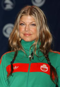 Fergie - Hollywood - 07-12-2004 - Usher e Fergie nel film su James Brown