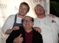 Mario Batali, Jamie Oliver, Danny DeVito - Miami - 25-02-2008 - Pessima figura per Danny Devito ubriaco a un'intervista