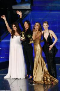 Andrea Osvart, Bianca Guaccero, Anna Tatangelo, Lola Ponce - Sanremo - 02-03-2008 - Sanremo senza vallette? Ricordiamo le ex protagoniste