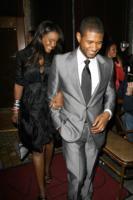 Tameka Foster, Usher - Santa Monica - 20-04-2008 - Usher abbandona i Grammy per un urgente problema familiare