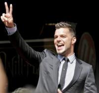 """Ricky Martin - Miami - 30-04-2008 - Ricky Martin e' diventato papa' di due gemelli da una """"madre surrogata"""""""