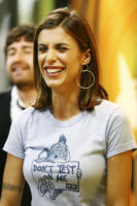 Elisabetta Canalis - Milano - 11-04-2008 - Elisabetta Canalis svela il mistero a Controcampo