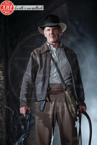 il teschio di cristallo, Indiana Jones - Cannes - 14-05-2008 - Harrison Ford sarà ancora una volta indiana Jones