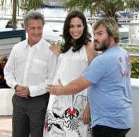 Angelina Jolie, Jack Black, Dustin Hoffman - Cannes - 14-05-2008 - Angelina Jolie a dieta ferrea per Venezia