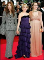 Catherine Keener, Michelle Williams, Samantha Morton - Cannes - 25-05-2008 - Michelle Williams ritorna alla vita mondana