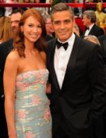 Sarah Larson, George Clooney - Hollywood - 24-02-2008 - George Clooney ha lasciato Sarah Larson