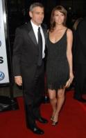 Sarah Larson, George Clooney - Hollywood - 01-04-2008 - George Clooney ha lasciato Sarah Larson