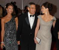 Giorgio Armani, George Clooney, Julia Roberts - New York - 05-05-2008 - George Clooney ha lasciato Sarah Larson