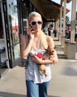 Paris Hilton - Malibu - 01-08-2007 - Il cane di Paris Hilton si è innamorato di quello di Joel Madden