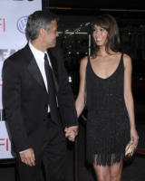 Sarah Larson, George Clooney - Hollywood - 31-03-2008 - George Clooney spia nel thriller Tourist