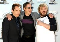 Ben Stiller, Robert Downey Jr, Jack Black - Universal City - 01-06-2008 - Robert Downey jr Pinocchio e Geppetto per Ben Stiller