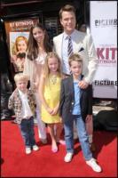 Caroline Fentress, Chris O'Donnell - Hollywood - 14-06-2008 - Genitori da record, Eddie Murphy arriva a quota 10!