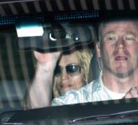 Madonna - New York - 22-07-2008 - Madonna va in studio di registrazione