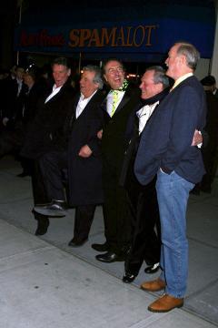 Original Monty Python cast - New York - 17-03-2005 - I Monty Python tornano insieme per un film