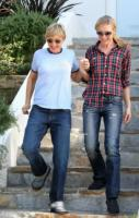 "Ellen DeGeneres, Portia De Rossi - Hollywood - 20-10-2008 - Ellen Degeneres e' ""delusa"" dal bando alle nozze gay in California"