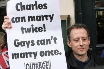 Peter Tachell - Windsor - 09-04-2005 - Carlo e Camilla finalmente sposi!