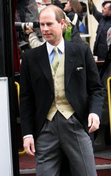 Principe Edward - Windsor - 09-04-2005 - Carlo e Camilla finalmente sposi!
