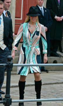Zara Phillips - Windsor - 09-04-2005 - Carlo e Camilla finalmente sposi!