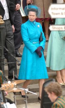 Princess Anne - Windsor - 09-04-2005 - Carlo e Camilla finalmente sposi!