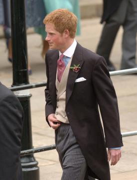 Principe Harry - Windsor - 09-04-2005 - Carlo e Camilla finalmente sposi!