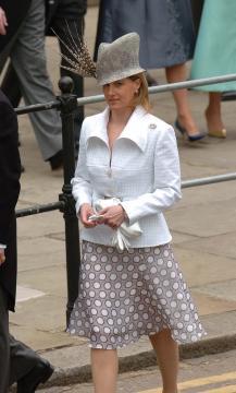 Contessa Sofia di Wessex - Windsor - 09-04-2005 - Carlo e Camilla finalmente sposi!