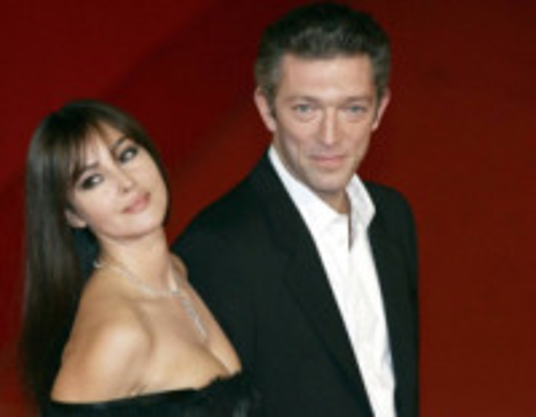 Monica Bellucci, Vincent Cassel - Roma - 23-10-2008 - Gli amori nati sul set e naufragati nella realtà