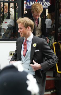 Principe William - Londra - 09-04-2005 - Royal Baby: Lady Diana sarebbe oggi nonna