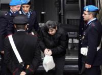 Rosa Bazzi - Como - 17-11-2008 - Strage di Erba, muore Carlo Castagna. Il saluto del figlio