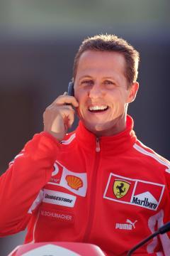 Michael Schumacher - 22-04-2005 - Michael Schumacher, Bunte magazine: