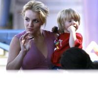 Jaden, Britney Spears - Tarzana - 17-10-2008 - Britney Spears non vuole che i figli entrino nel mondo dello spettacolo