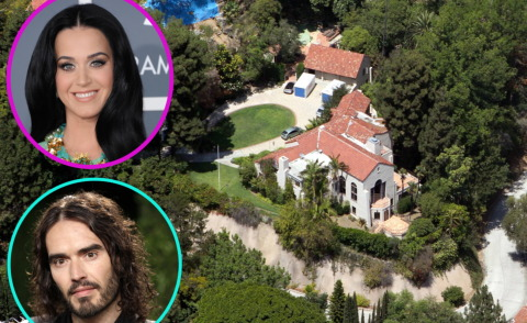 katy perry vende la villa che compr con russell brand foto. Black Bedroom Furniture Sets. Home Design Ideas