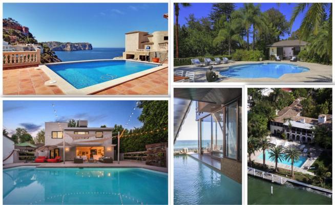 Sognare non costa nulla ecco le piscine delle star foto - Sognare piscine ...