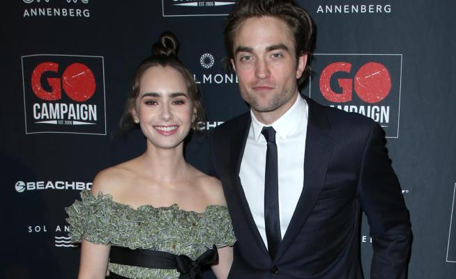 Robert Pattinson e Lily Collins supportano la GO Campaign ...