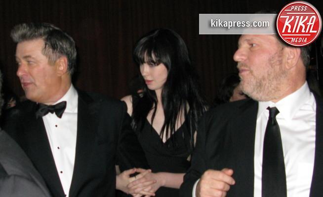 figlia, Harvey Weinstein, Alec Baldwin - Los Angeles - 26-01-2009 - Caso Weinstein, tra Asia Argento e Alec Baldwin volano insulti