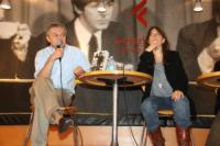 Luca Sofri, Patti Smith - Milano - 29-06-2010 - Patty Smith presenta a Milano il libro autobiografico Just Kids