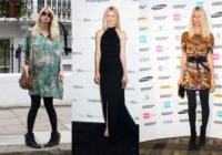 Claudia Schiffer - Londra - 17-09-2011 - Claudia Schiffer e' a un passo dall'anoressia