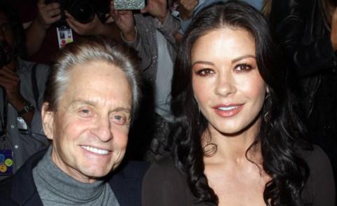 Catherine Zeta Jones, Michael Douglas - New York - 13-09-2012 - Michael Douglas e Catherine Zeta-Jones tornano insieme