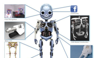 Roboy - Zurigo - 03-01-2013 - Roboy, il robot più avanzato al mondo