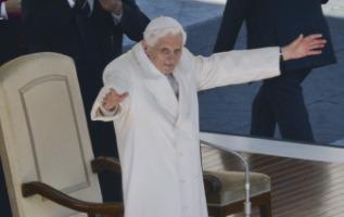 Papa Benedetto XVI - Città del Vaticano - 27-02-2013 - L'addio di Benedetto XVI: l'ultima udienza del Papa