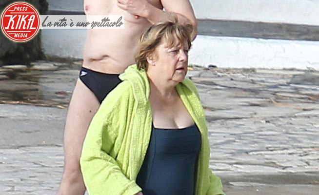 Joachin Sauer, Angela Merkel - Ischia - 31-03-2013 - Estate 2020, Angela Merkel tornerà a Ischia: e le altre star?